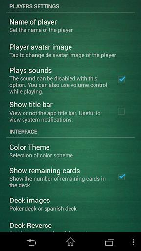 Escoba / Broom cards game 1.3.4 Screenshots 4