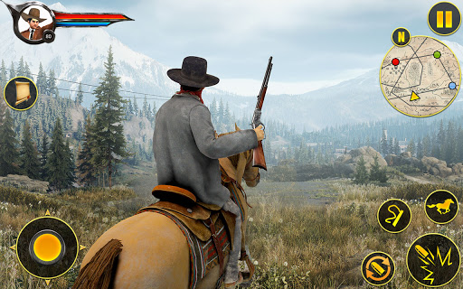 Cowboy Horse Riding Simulation : Gun of wild west 5.1 screenshots 10