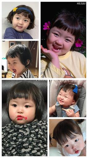 Funny Baby Stickers: Jin Miran Cute WAStickersApp apktram screenshots 1