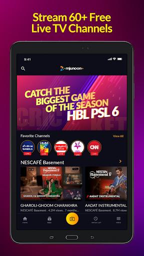 mjunoon.tv: Watch PSL 6 2021 Live and Free  Screenshots 8