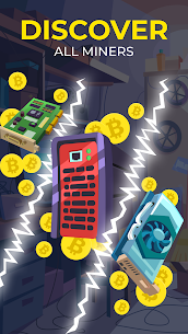 The Crypto Merge Mod Apk- bitcoin mining simulator (Unlimited Money) 3