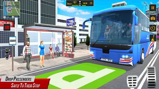 Super Coach Driving 2021 : Bus Free Games 2021 screenshots 3