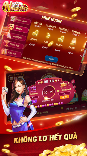 NPLAY: Game Bu00e0i Online, Tiu1ebfn Lu00ean MN, Binh, Poker.. screenshots 3