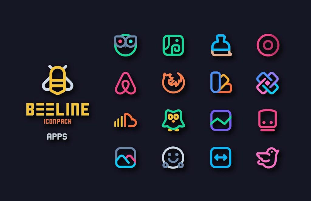 BeeLine Icon Pack  poster 4