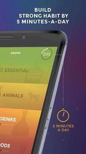 Drops: Learn English. Speak English. android2mod screenshots 4