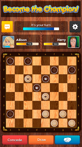 Checkers Plus - Board Social Games apkmr screenshots 3