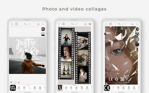 Graphionica Photo & Video Collages: sticker & text apktram screenshots 12
