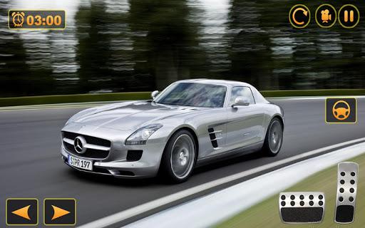 Benz SLS AMG: Extreme City Stunts Drive & Drifts Apkfinish screenshots 6