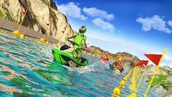 Jet Ski Water Speed Boat Racing