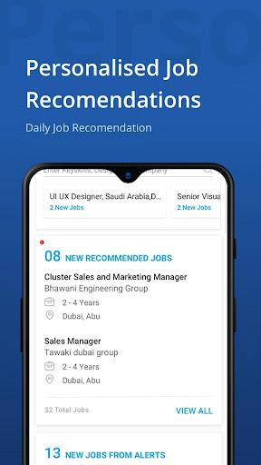 Naukrigulf- Career & Job Search App in Dubai, Gulf 4.0 Screenshots 2