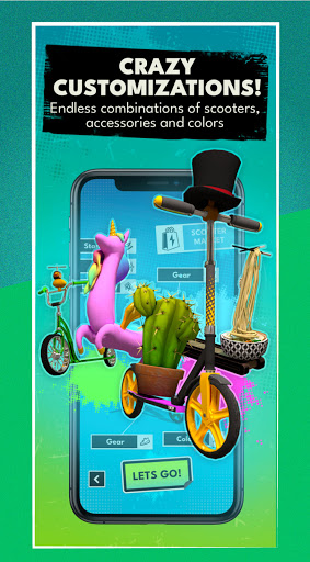 Touchgrind Scooter 3D!! Tricks  screenshots 15