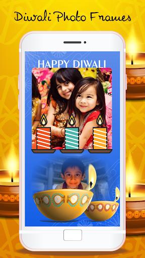 Happy Diwali Photo Frames - Photo Editor screenshots 1