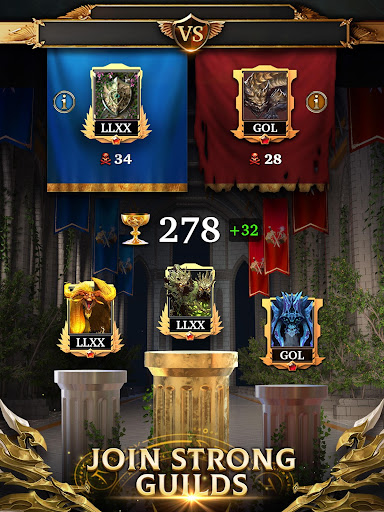Legendary: Game of Heroes - Fantasy Puzzle RPG screenshots 5