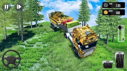 Army Truck Driving Simulator Game-Truck Games 2021 5