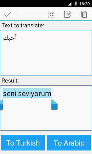 Arabic Turkish Translator 20.11 screenshots 3