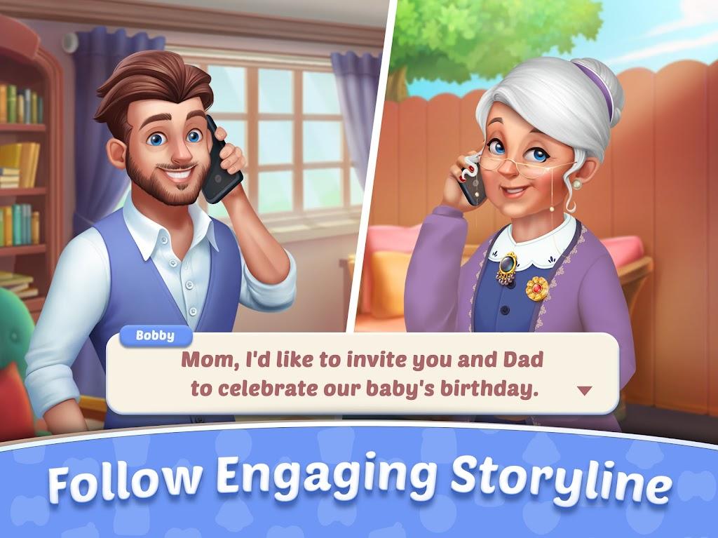 Baby Manor: Baby Raising Simulation & Home Design  poster 15