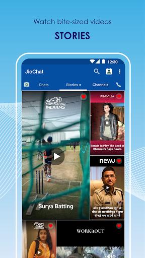 JioChat: HD Video Call android2mod screenshots 6