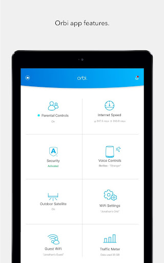NETGEAR Orbi u2013 WiFi System App screenshots 9