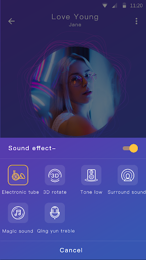 Music player - MP3 player & Audio player android2mod screenshots 8