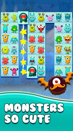 Onet Connect Monster - Play for fun apkslow screenshots 6