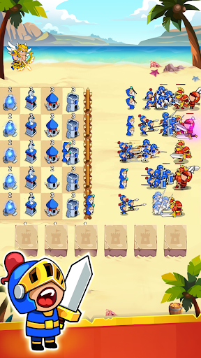Save The Kingdom: Merge Towers  screenshots 8
