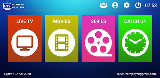 Download IPTV Stream Player APK for Android (Free)