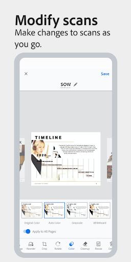 Adobe Scan: PDF Scanner with OCR, PDF Creator 20.09.22-regular Screenshots 6