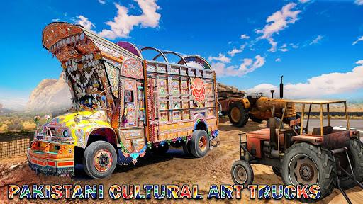 Pak Truck Driver: Heavy Cargo Trailer Truck Apps  screenshots 21
