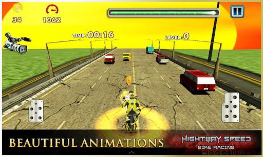 Highway Speed Motorbike Racer : Bike Racing Games  screenshots 15