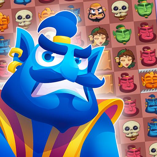 Genie Quest: Aladdin Matching Game