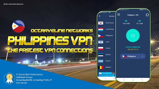 Philippine VPN - The Fastest VPN Connections 3.1