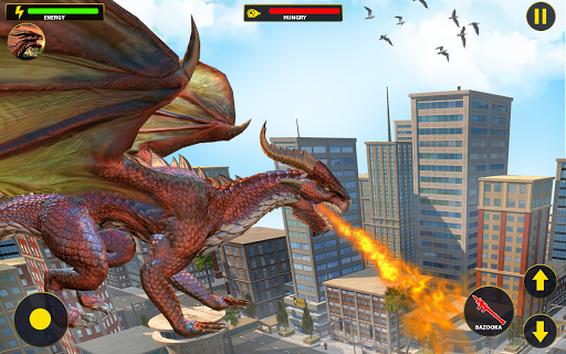 Flying Dragon City Attack 1.0.16 screenshots 5
