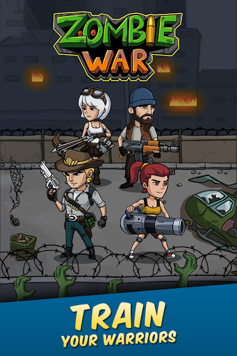 Zombie War: Idle Defense Game 20 screenshots 21