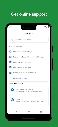 Google Fiber android2mod screenshots 5