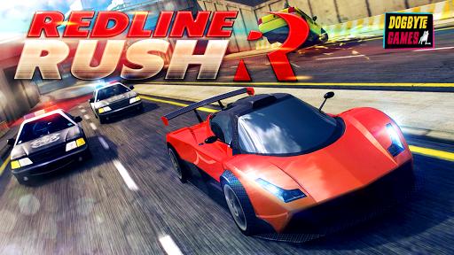 Télécharger gratuit Redline Rush: Police Chase Racing APK MOD 1