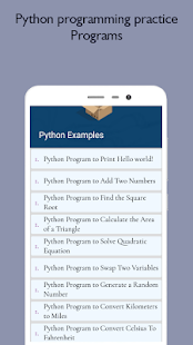 Python Programming - Project Based Tutorials Point
