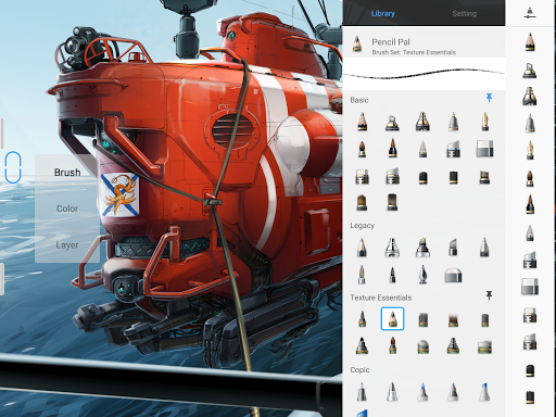 SketchBook - draw and paint 5.2.2 Screenshots 6