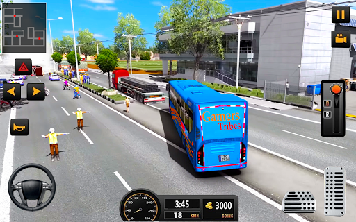 Bus Driver 21 - New Coach Driving Simulator Games 1.3 Screenshots 7