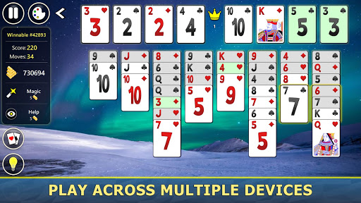 FreeCell Solitaire Mobile 2.0.7 screenshots 16