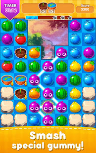 Juicy Fruit Juice Blast Match3