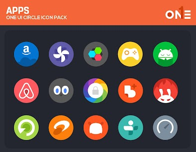 OneUI Circle Icon Pack 4