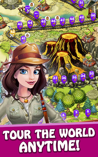 Magica Travel Agency - Match 3 Puzzle Game 1.3.0 screenshots 4