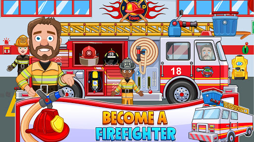 Fireman, Fire Station & Fire Truck Game for KIDS android2mod screenshots 3