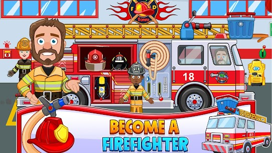 My Town : Fireman MOD (Purchased) 3