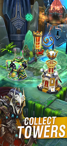 Defenders 2 TD: Base Tower Defense. Strategy & CCG modiapk screenshots 1