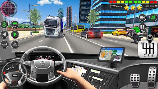 Bus Driving Simulator Games : Coach Parking School 1.7 screenshots 3