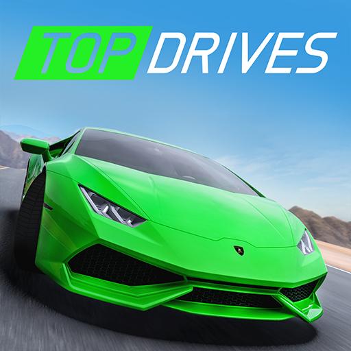 Top Drives – Cartes de voitures du course