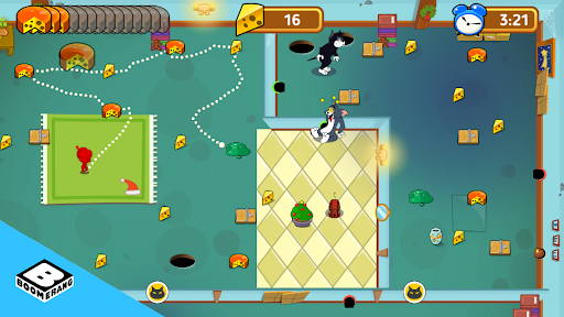 Tom & Jerry: Mouse Maze FREE  Screenshots 7