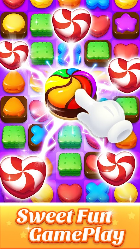 Cookie World -- Clash of Cookie & Colorful Puzzleのおすすめ画像1