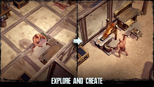 Exile Survival – Craft, build, fight with monsters 0.30.0.1828 MOD APK [UNLIMITED MONEY] 5